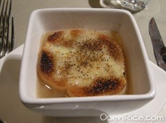 Gratinated French Onion Soup